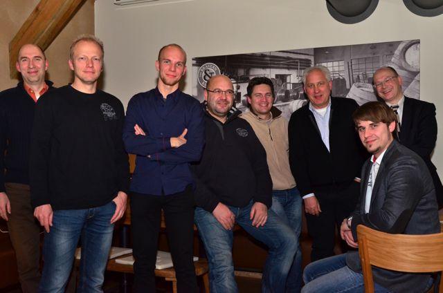 Gründungsmitglieder der IT-Lagune